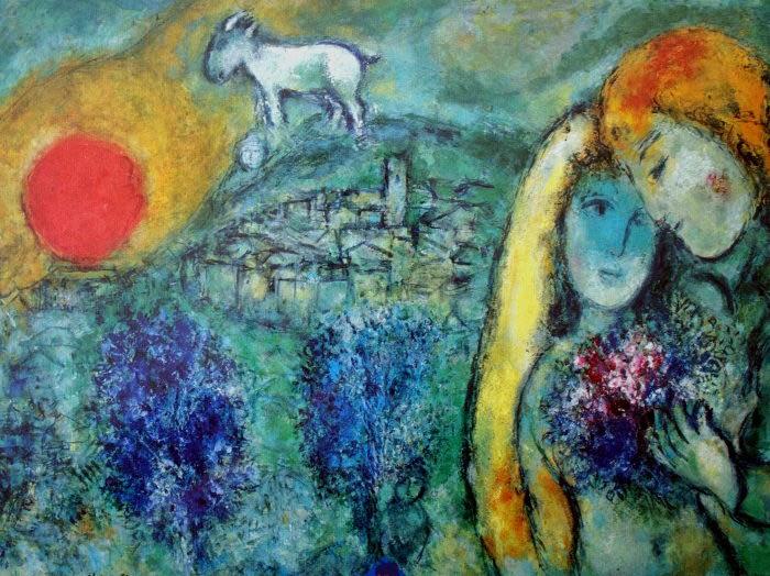 Chagall amanti Vence