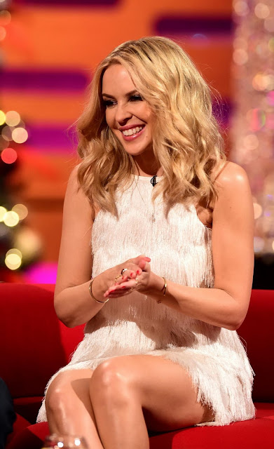 Actress, Singer, @ Kylie Minogue - Graham Norton Show
