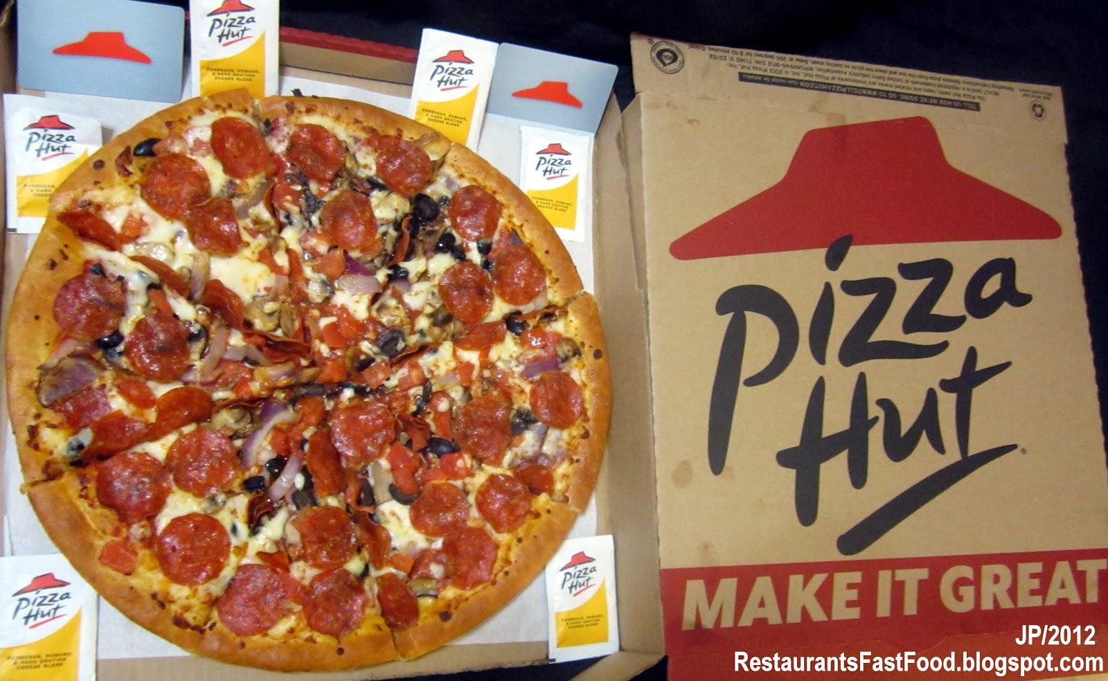 Pizza Hut Pepperoni Large