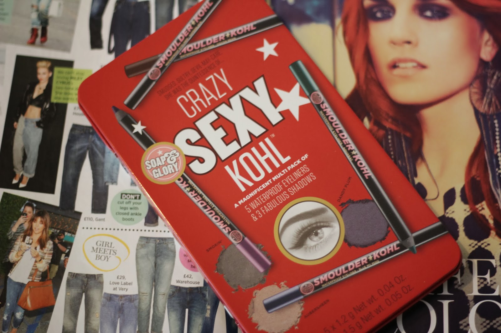 Review - Soap & Glory Crazy, Sexy Kohl