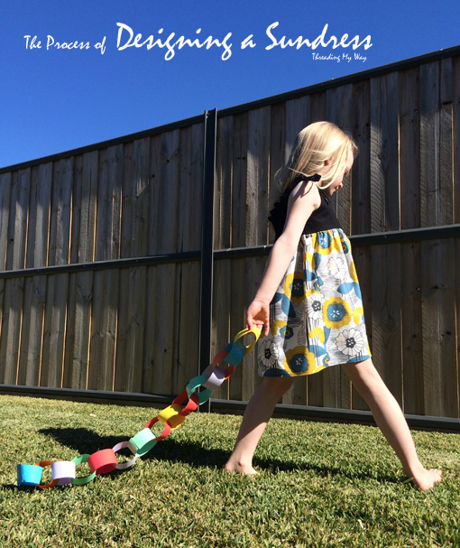 Designing a Sundress - from initial thoughts to the finished dress. Learn how to make your own dress ~ Threading My Way