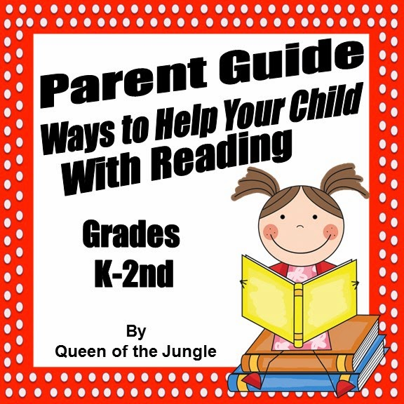 https://www.teacherspayteachers.com/Product/Parent-Guide-For-Reading-at-Home-Grades-K-2nd-1159241