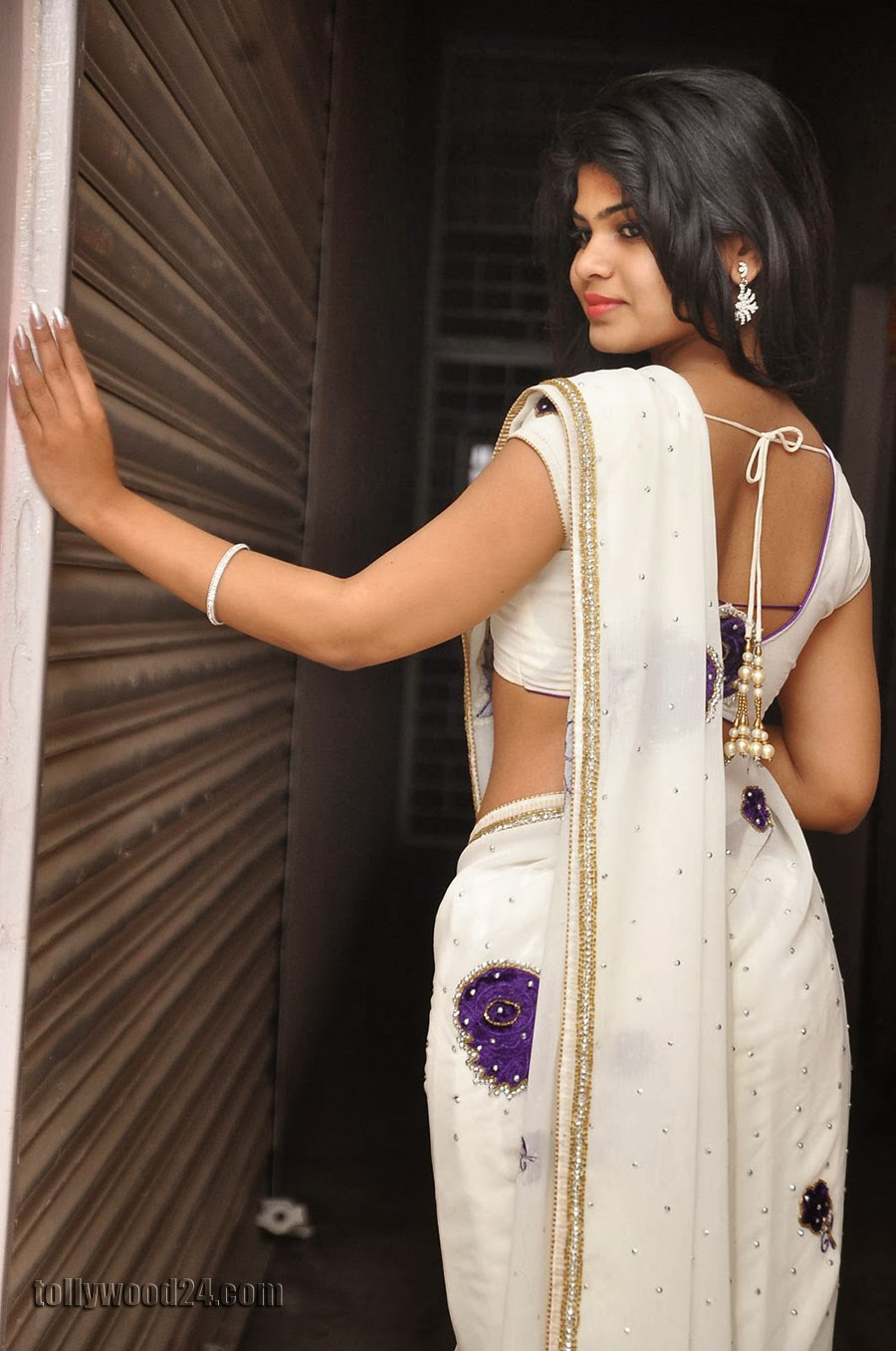 Alekhya Latest Photos in Saree at Donga Prema Audio-HQ-Photo-15