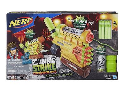 TOYS : JUGUETES - Nerf Zombie Strike  Biosquad Abolisher ZR-800 | Pistola - Blaster  Producto Oficial 2015 | Hasbro B0681 | A partir de 8 años  Comprar en Amazon España & Buy Amazon USA