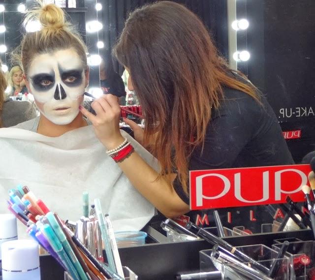 X Factor 2013 Italia terza puntata backstage PUPA make up ballerina pole dancer Ape Escape
