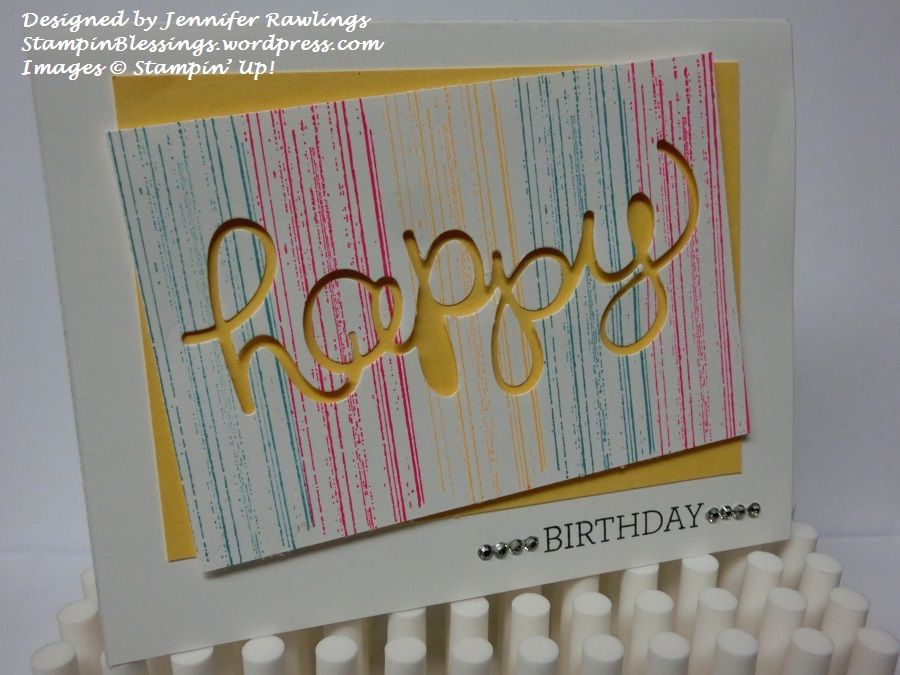 Sisters in Stamping Fabulous birthday cards for kids and teens