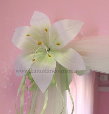 fiori in stoffa