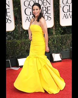 Golden Globes Fashion 2012: Paula Patton