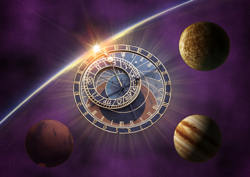 Aventura 2: A ambição de Alberich. Neve vermelha. The+Space+Clock