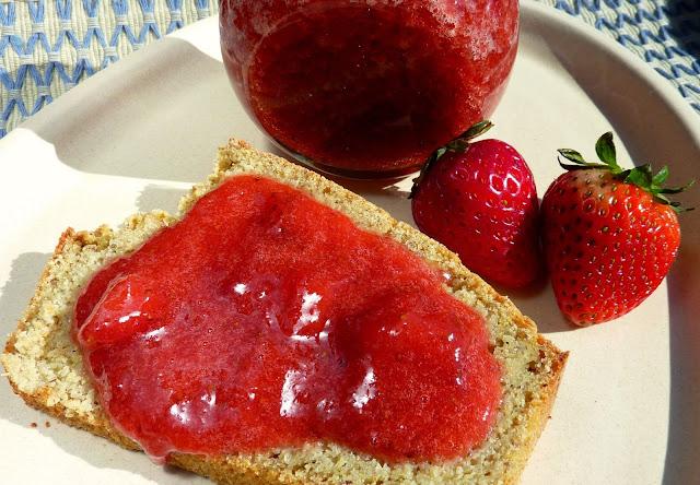 mermelada casera de frutillas