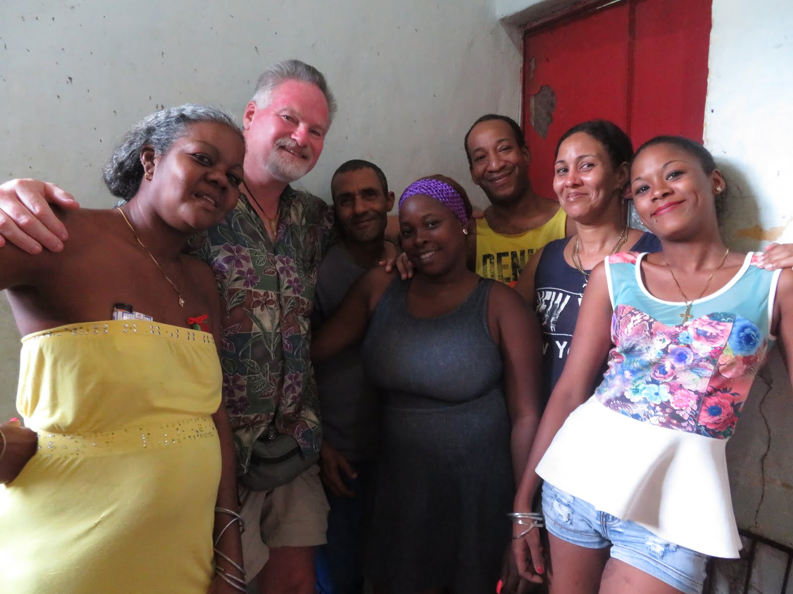 Me With Barbaro's Family, Havana