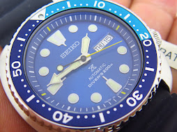 SEIKO DIVER NEW TURTLE BLUE LAGOON - SEIKO DIVER SRPB11J1 - LIMITED EDTION - AUTOMATIC 4R36