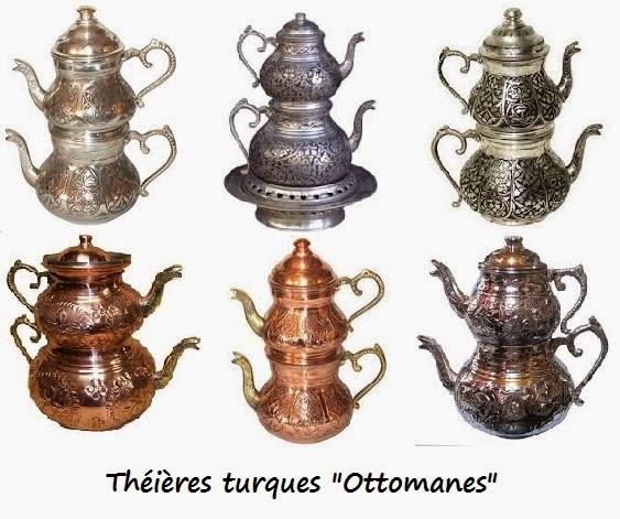 Manger turc la cuisine turque la theiere turque caydanlik - Cuisine turc traditionnel ...
