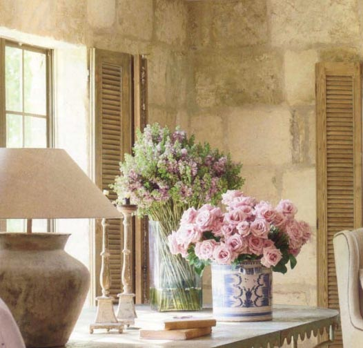 Design by Pamela Pierce for Ruth Gay, owner of Chateau Domingue, as seen on linenandlavender