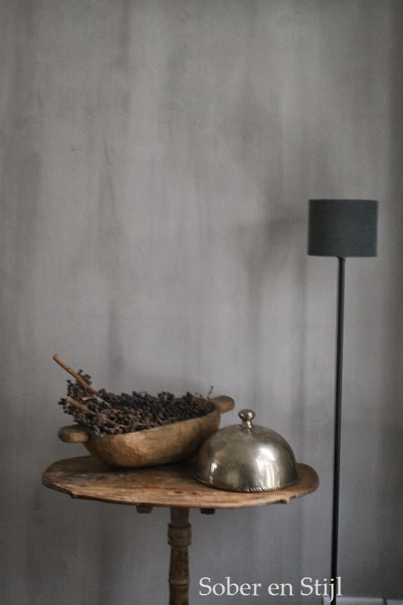 Keuken Schilderen Met Krijtverf : In de keuken hebben we wel een donkere kleur, en dan Piombo van Carte