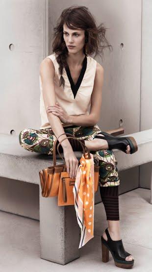 colección primavera verano 2012 H&M Marni