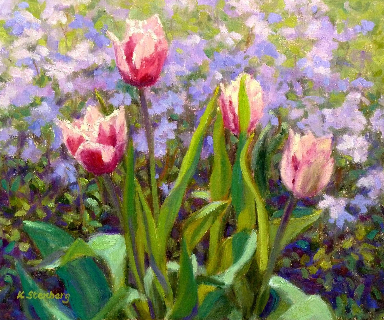 just tulips spring garden - photo #27
