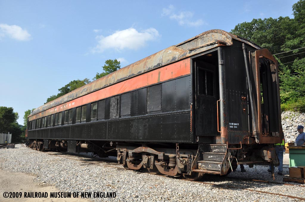 News From The Naugy Forest Hills Pullman Parlor Car Nh