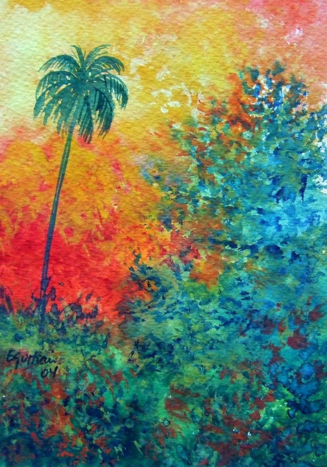 Emilio guitian y sus cuadros entrada 56 los cuadros de la familia de juan antonio y carmita - Cuadros tenerife ...