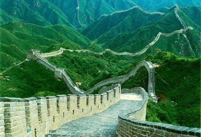 Impresionante fotografía de la Muralla China - Arquitectura