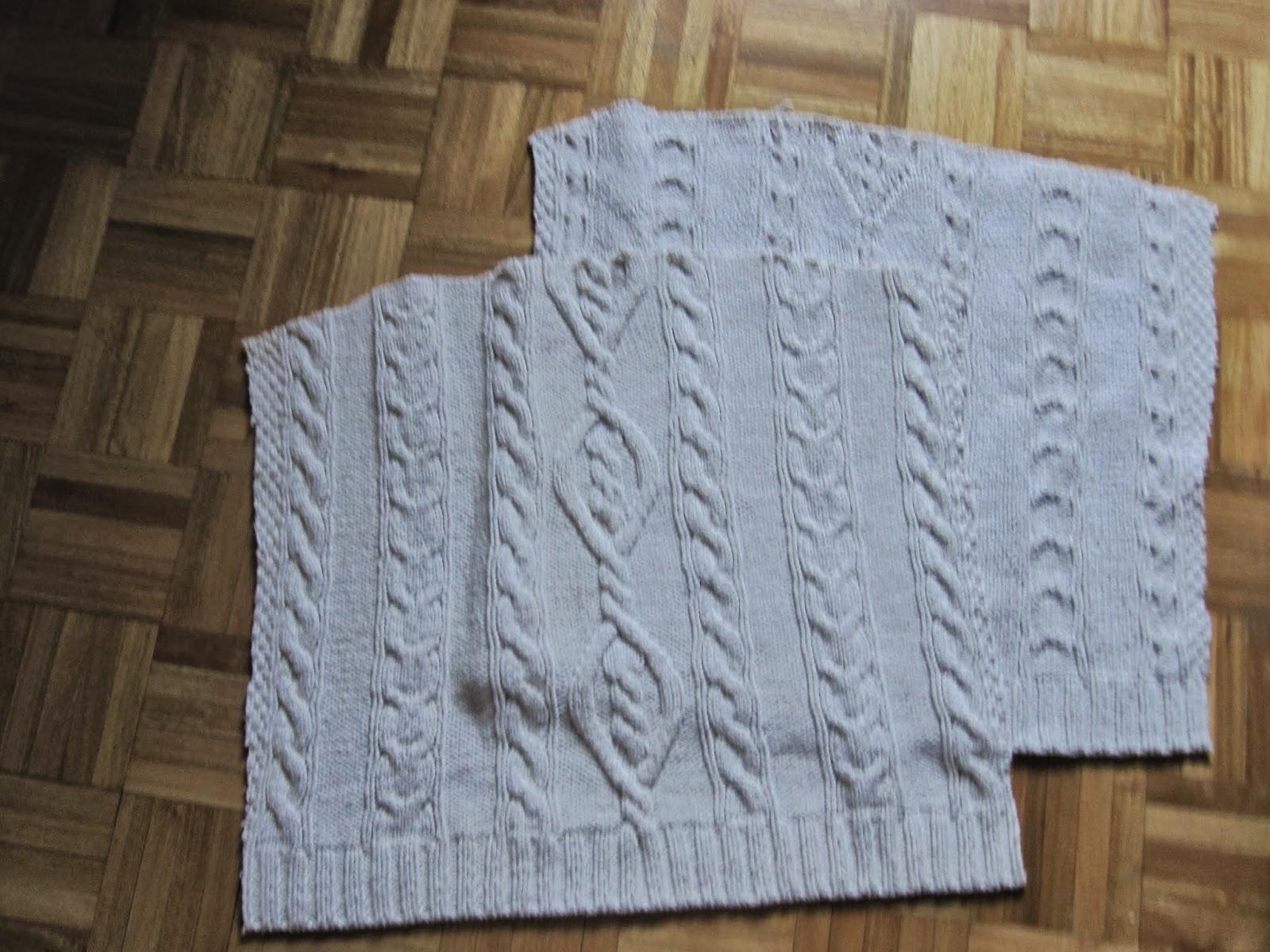 C mo hacer un coj n con un jersey de punto handbox craft - Como hacer un jersey de punto ...