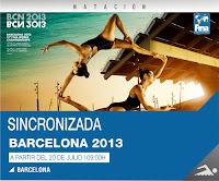 NATACIÓN SINCRONIZADA-Mundial Barcelona 2013