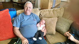 Grandpa and baby Margaret Kathleen