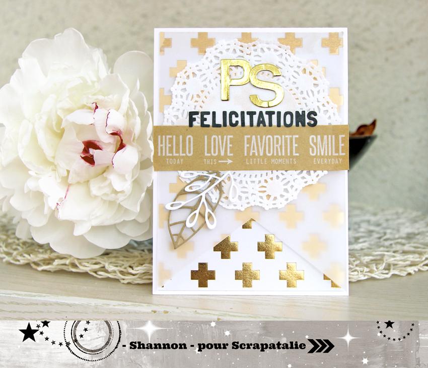 Les cr ations de scrapatalie carte de mariage par shannon - Mot de felicitation mariage ...