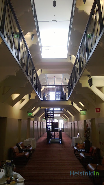 prison hall way
