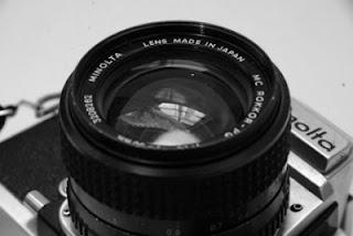 Minolta SR-T Super lensa zoom