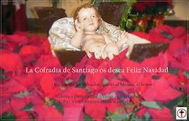 La Cofradía de Santiago os desea Feliz Navidad