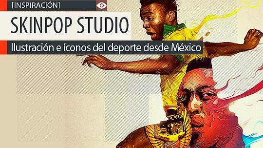 Ilustración e íconos del deporte con SKINPOP Studio