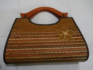 Tas Lidi Minang Kumis besar, tas lidi, tas etnik, tas  lokal, tas bahan alam