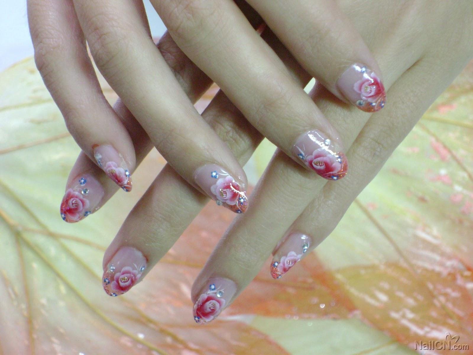 Печать на ногти фото