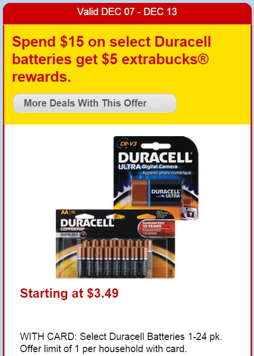 Duracell manufacturer coupons