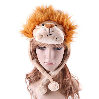 Plush Lion Hats