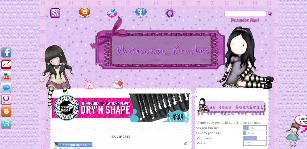 Entre aqui e confira http photoscapebrushes blogspot com