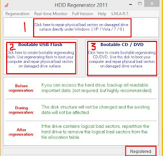 Download HDD Regenerator 2015 with Crack and Key for Windows