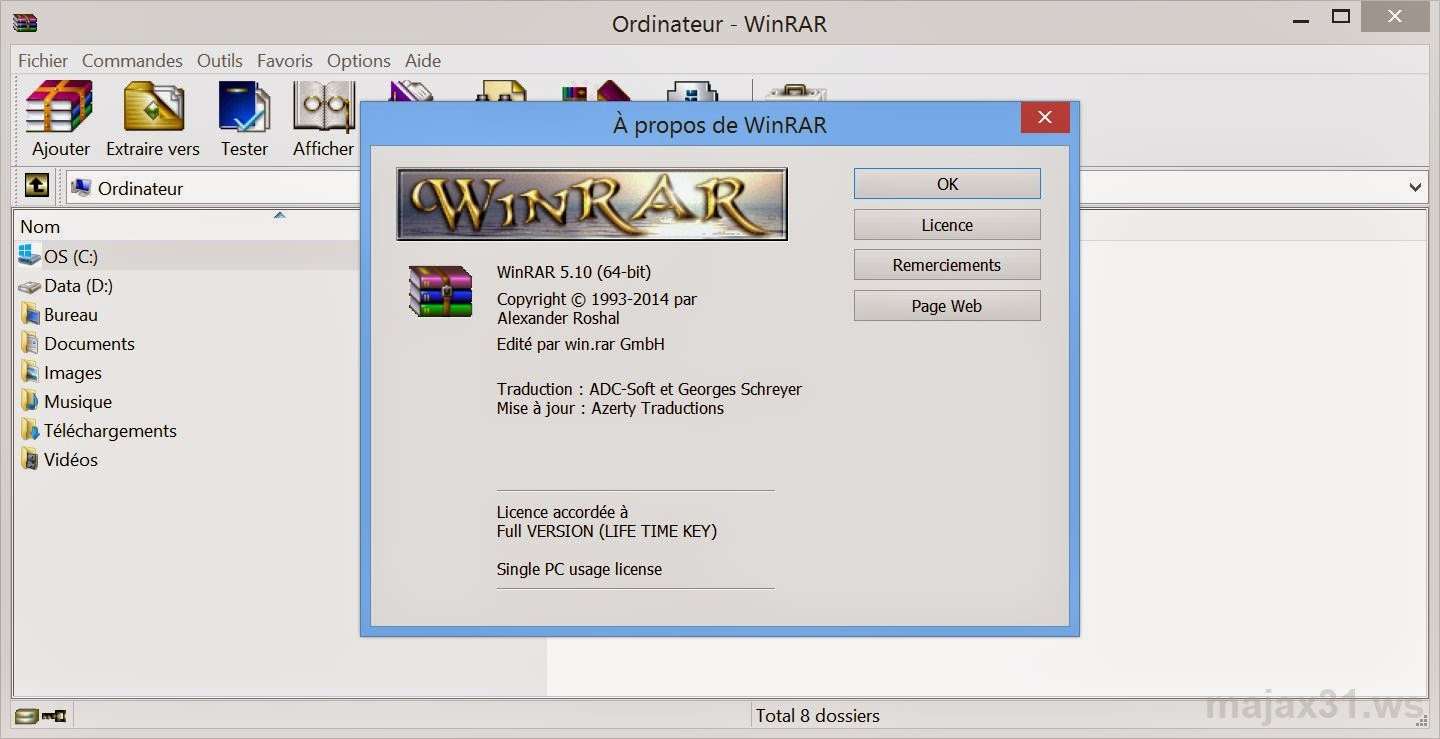 winrar application
