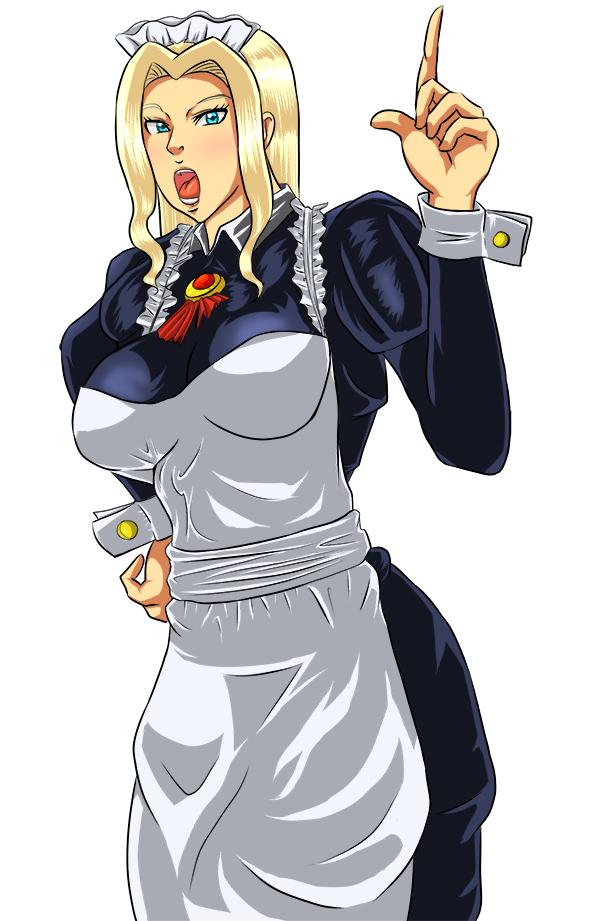 Blonde Maid