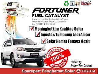 Toyota Fortuner Fuel Catalyst Broquet