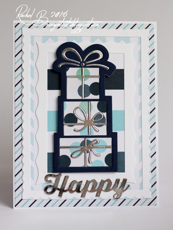Scrapatout - Handmade card, Happy Birthday, Boy, Impression Obsession