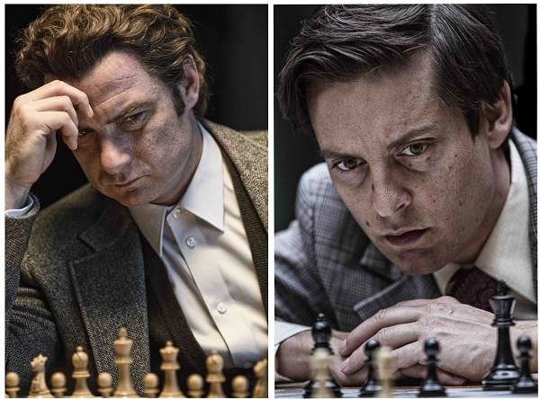 L'histoire de Bobby Fischer (Tobey Maguire), le prodige américain des échecs, contre Boris Spassky (Liev Schreiber) © 2015 Metropolitan Films