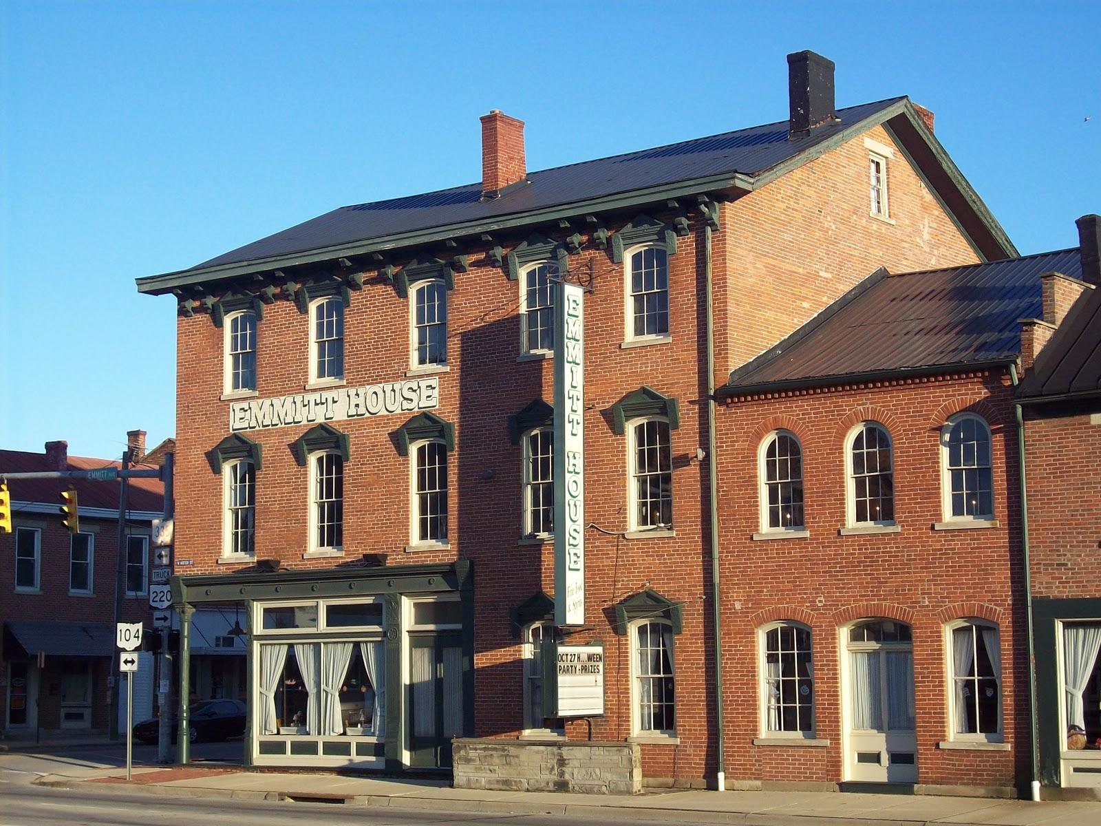 The Emmitt House Restaurant Of Waverly Ohio