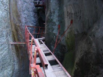 poduri Canionul Sapte Scari, Muntele Mare