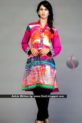 Alkaram Presenting Sania Maskatiya Pret 2015