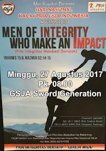Harnas Kaum Pria, Minggu 27 Agustus 2017 Jam 08.00 WIB