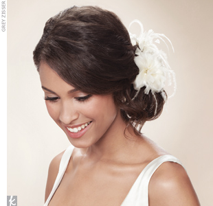 wedding hair accessories | Wedding Hairstyles With Veil