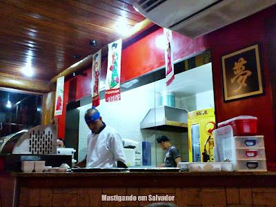 Nippon Restaurante e Temakeria: Amiente interno