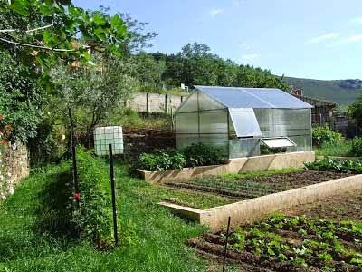 jardin bio en Espagne